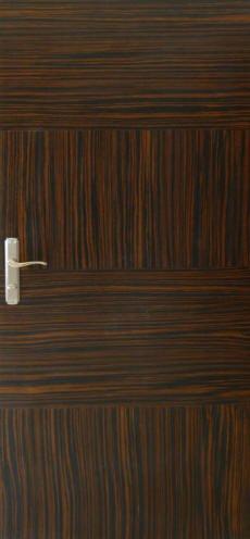 Abanoz Kaplamalı Suyunua Sofrasına Mobilya Kapı